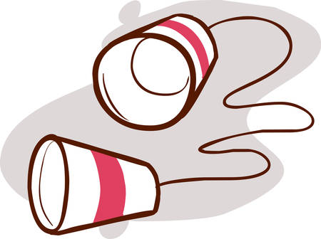 Kommunikation flach - Zeichenfolge-Telefonsymbol