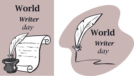 World Water Day. Postcard, banner, flyer. Greeting card. Doodle drawing