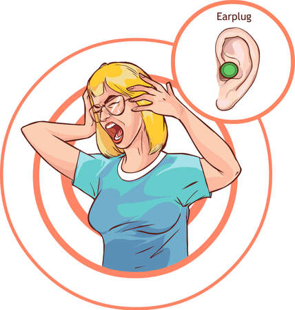 Vector - Protect you Ears and Hearing Health infographic diagram