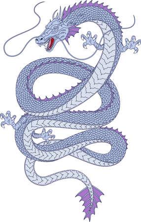 Aquatic dragon