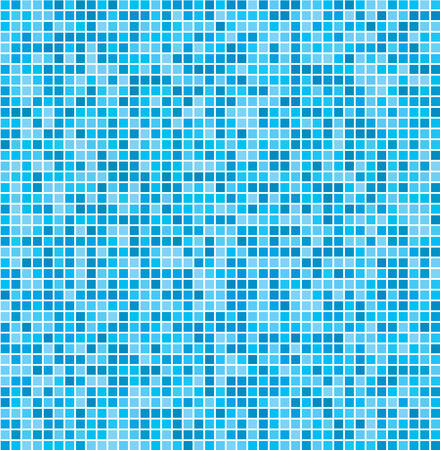 tile pattern: Vector texture in the form of multi-colored square tiles.