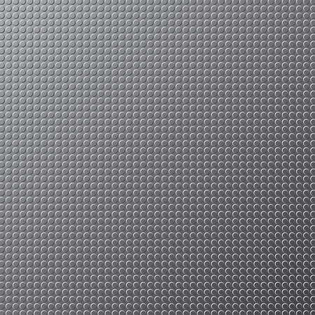 sheet iron: Vector background. The texture of the metal sheet in the form of iron in circles.