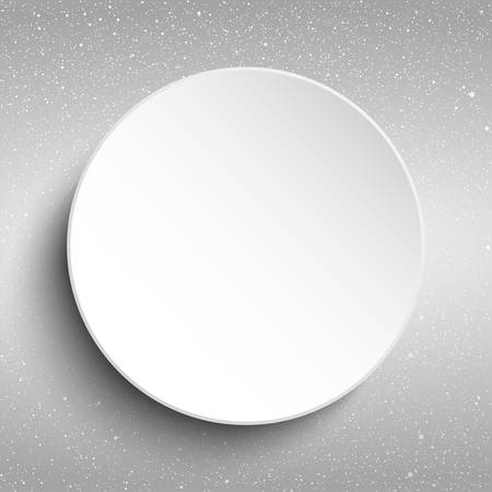 blizzards: Vector white frame on a background of snow. Illustration