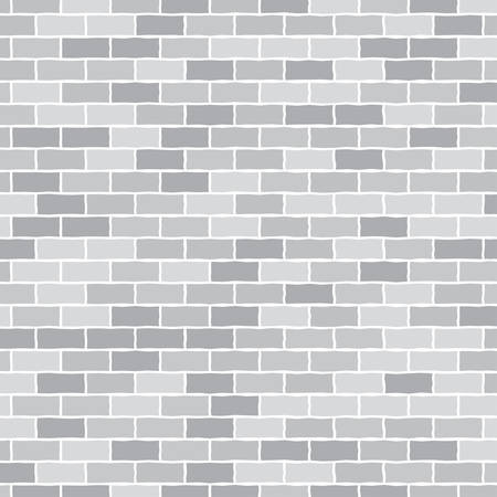 bricks background: Vector background. Wall of gray bricks. Background for something.