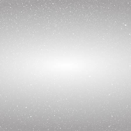 snow falling: Vector white snow falling on dark background. Illustration