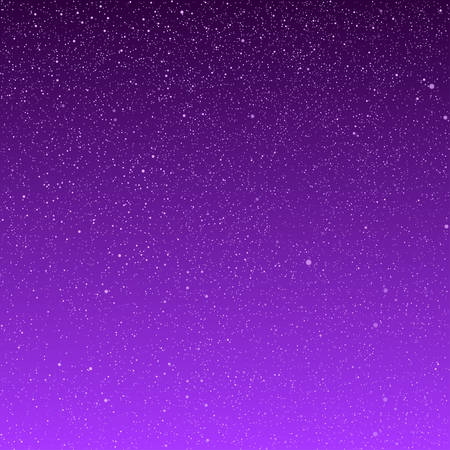 ice storm: Vector background with snowflakes. Purple ice storm.