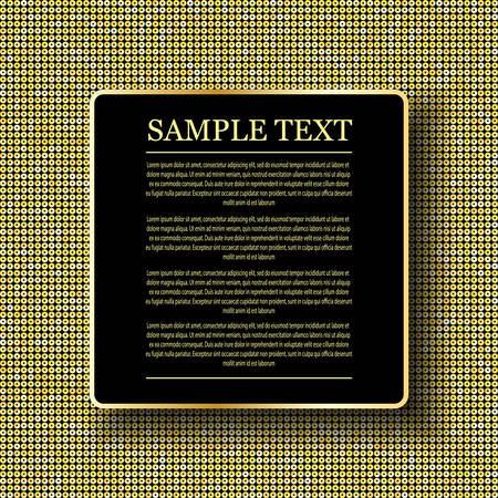 sheen: Background with shiny gold sequins. Sparkle glitter background. Glittering sequins wall. Illustration