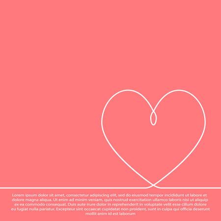 Weißes Papier Herz auf einem grauen Hintergrund.