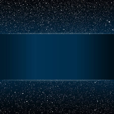 stars sky: Stock rectangular frame. Vector background. Starry night sky. Stars, sky, night. Blue stripe, the card against the starry sky.