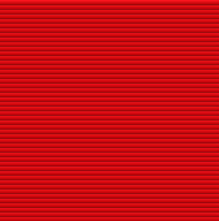 window shade: Pattern texture of crumpled paper in the volume of horizontal lines for notes. Can be used for wallpaper, pattern fills, web page background, surface textures. Red galousie. Illustration