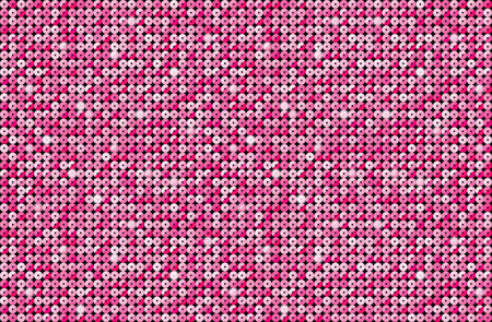 pallette: abstract pink background. Background with shiny pink sequins.
