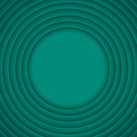 wed: Concentric Circle Turquoise Elements Background. illustration. Background with 6 Circles from Shadow. Wed Design.