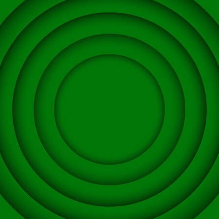 wed: Concentric Circle Green Elements Background. illustration. Background with 6 Circles from Shadow. Wed Design. Illustration