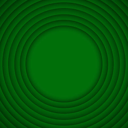 wed: Concentric Circle Green Elements Background. illustration. Background with 10 Circles from Shadow. Wed Design.