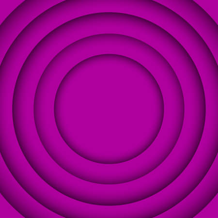 wed: Concentric Circle Purple Violet Elements Background. illustration. Background with 6 Circles from Shadow. Wed Design.