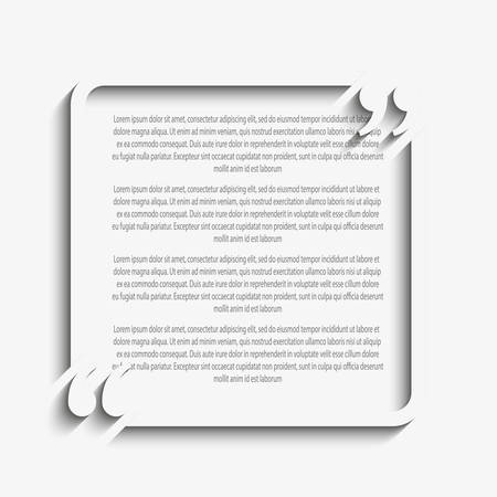 Quote blank template quote square empty template heart business 66459795 quote blank template quote square empty template heart business card template paper sheet information text print design quote form cheaphphosting Gallery
