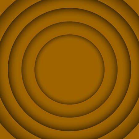 wed: Concentric Circle Orange Elements Background. illustration. Background with 6 Circles from Shadow. Wed Design.