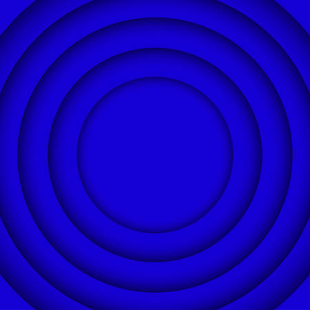 wed: Concentric Circle Blue Elements Background. illustration. Background with 6 Circles from Shadow. Wed Design.