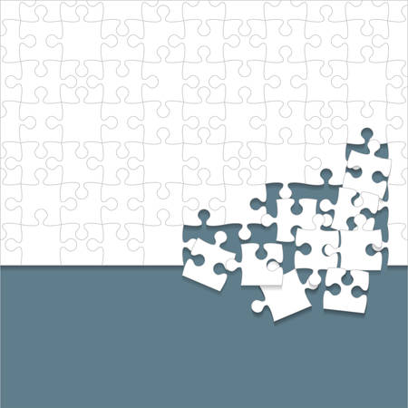 Icône de pièces de puzzles.