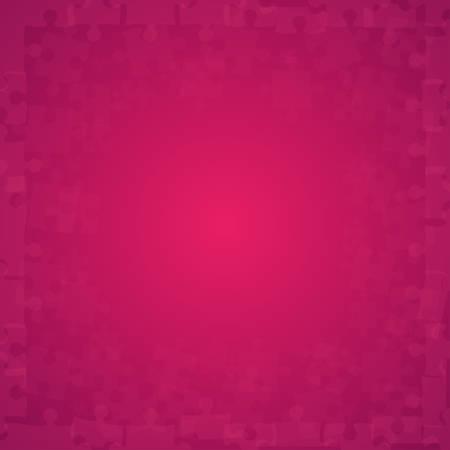 puzzles rose puzzles - vector illustration puzzle