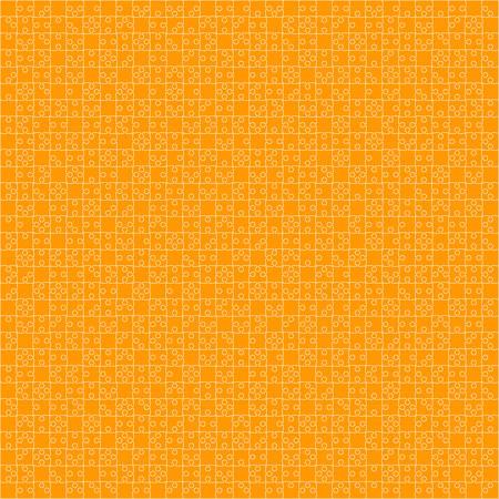 900 Orange Material Design Pieces - JigSaw