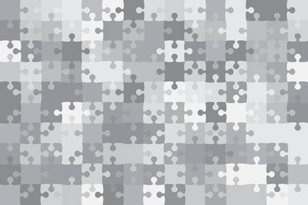 paper background: Vector Grey 150 Puzzles Pieces Jigsaw