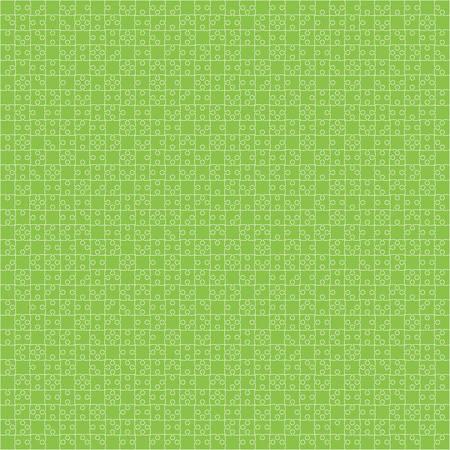 Green Material Design Pieces - JigSaw
