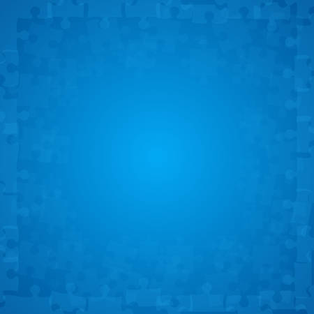 bleu puzzles pièces illustration