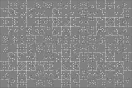 Vector Grey 150 Puzzles Pieces Jigsaw