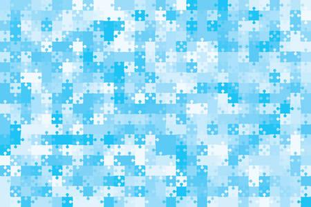 500 Blue Background Puzzle. Infographic Presentation. Jigsaw Puzzle Banner. Vector Illustration Template Shape. Abstract Puzzle Background. Puzzle Game, Mosaic, Mosaic Tiles. Pieces Background.