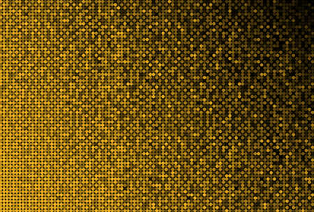 Banner Gold Sequins Glitter Sparkle Stars Glow. Stock fotó