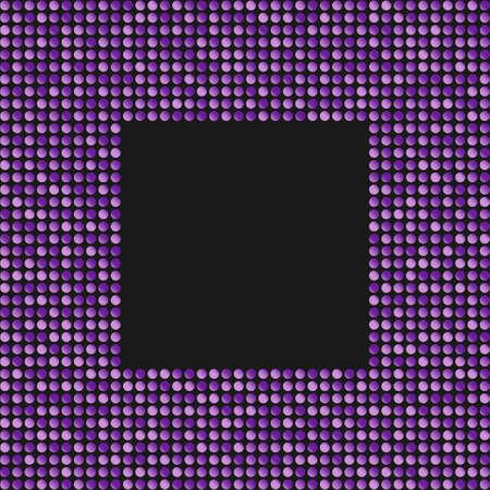 The Banner Purple Sequins Glitter, Sparkle, Back. Stock fotó