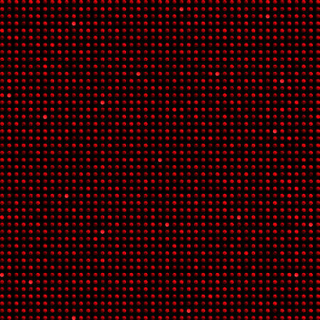 Background made of red sequins, glitters dots