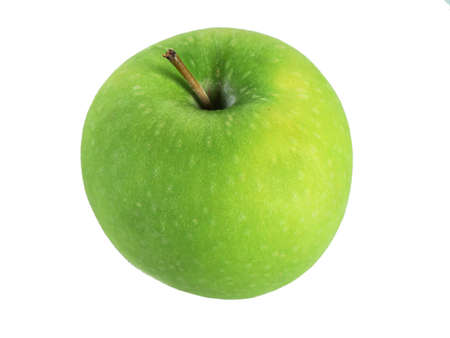 granny smith apple: Granny Smith Apple viewed from upper angle