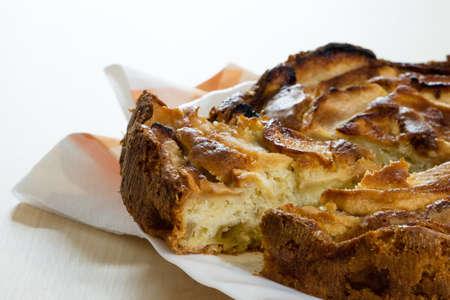 sliced apple: sliced apple cake