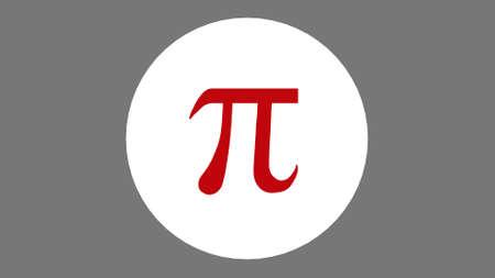 Physics logo phi for pysic equation. pi logo science logo