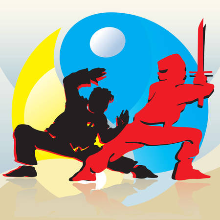 yinyang: Asian Fighters And Yin-Yang