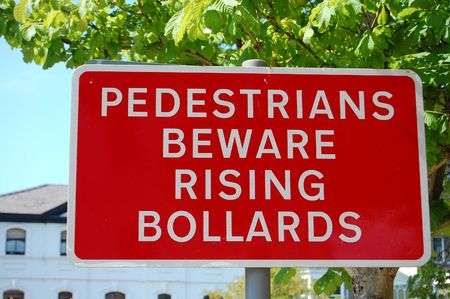 innuendo: Funny sounding street sign full of Innuendo Stock Photo
