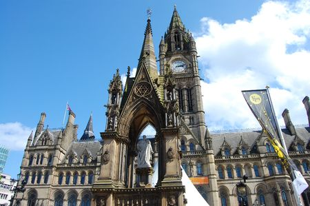 prominent: Manchesters gothic town hall