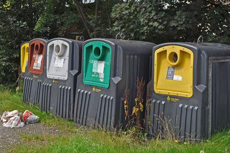 desechos organicos: Reciclar bins