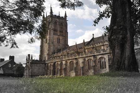 parish: Parish Church Rochdale UK Stock Photo