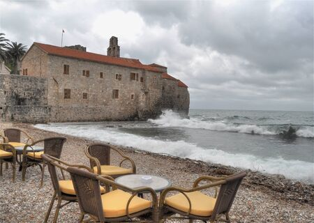 budva: Budva - Montenegro Stock Photo