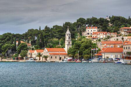 evocative: Cavtat - Croatia Stock Photo