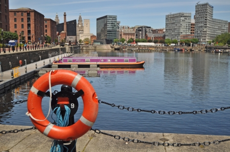 The Albert dock - Liverpool U.K. Stock Photo - 14097494