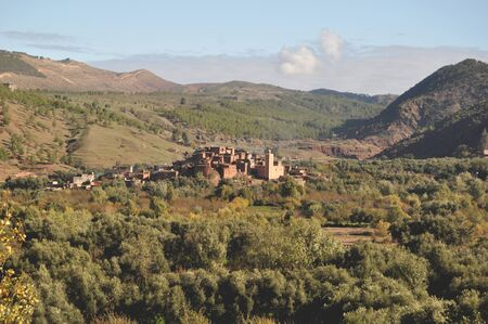 typical: Typical Moroccan village