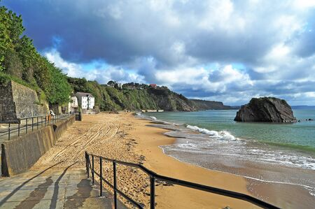 tenby wales: Tenby - Panorama