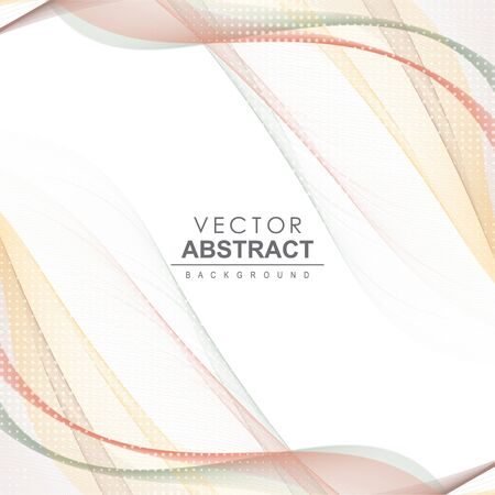 Abstract vector background. Vector dynamic illustration.