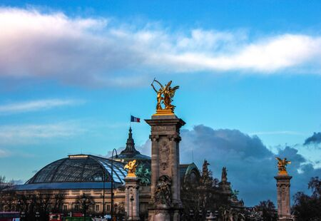 Musée à Paris Banque d'images - 21007570