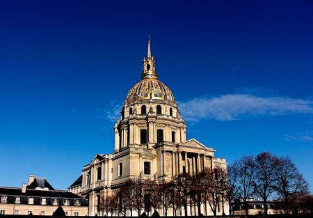 Les Invalides monument à Paris Banque d'images - 30561536