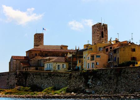 Côte d'Azur, la ville d'Antibes Banque d'images - 31007637